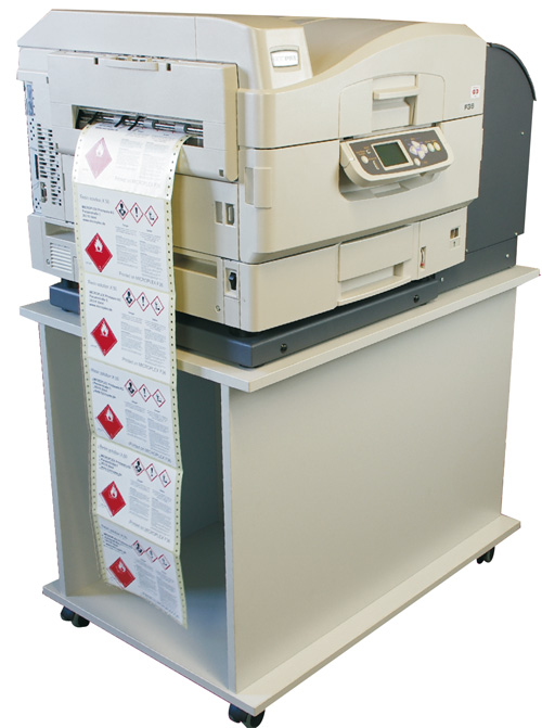 Microplex F36c laser color papel continuo