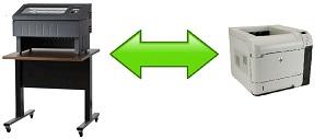 comparativa printronix-p8000 vs laser