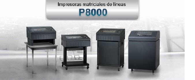 NUEVA SERIE MATRICIAL DE LÍNEAS PRINTRONIX P8000