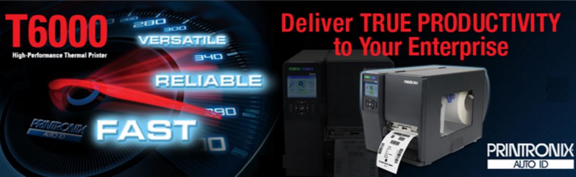 Nueva Impresora térmica de alto rendimiento Printronix T6000